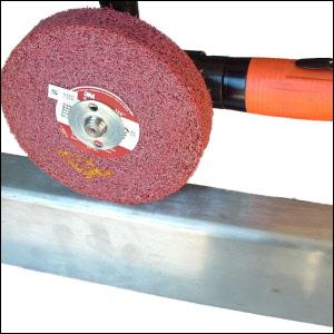 Stainless Steel Finishing Tools Demo | Corner-Edge Grinding